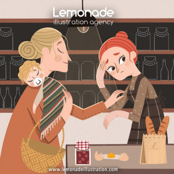 Lemonade illustration agency