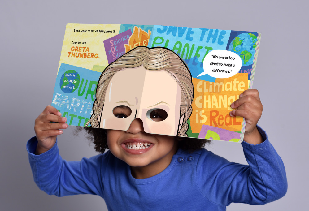 """""""I Can Be Like... A Book of Masks of Inspiring Women,"""" illustrated by Violet Lemay"""