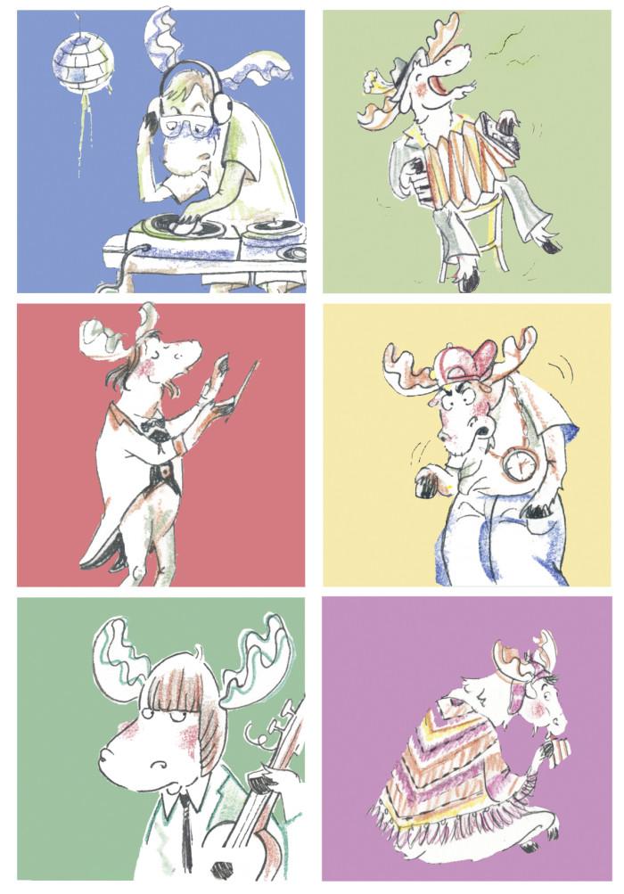 Music Reindeer