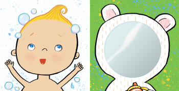 """""""TummyTime™: Happy Baby,"""" illustrated by Violet Lemay"""