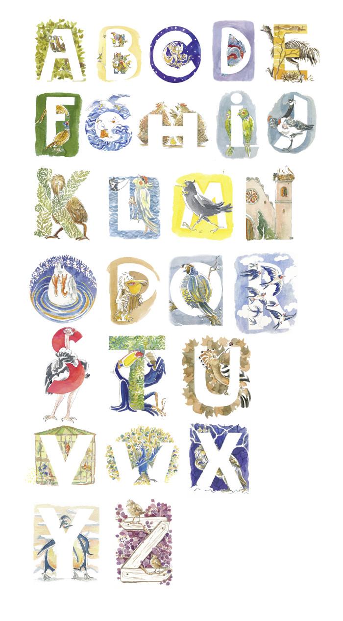 ABC-Flying Alphabet