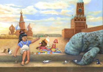Playing Mousetrap with a Manatee in Moscow