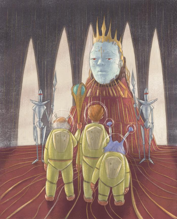 Queen of Robots - The Sorcerer's Dog
