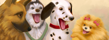 Dogs at