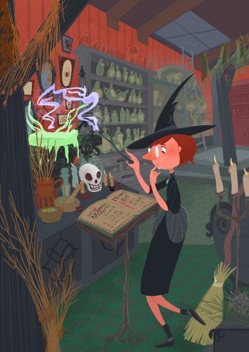 The Witch and the spell