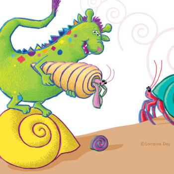 Monster & Crab Swirl
