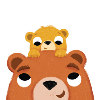 Daddy and baby bear