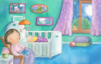 Lullabies Poem for Highlights Hello Magazine