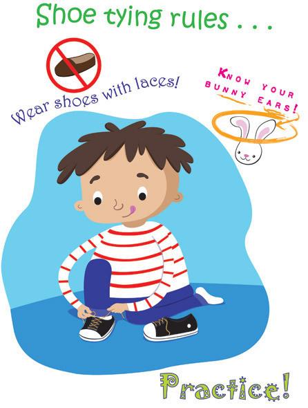 Shoe Tying Rules