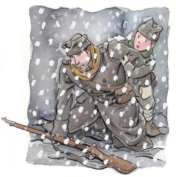Momcilo in Snow