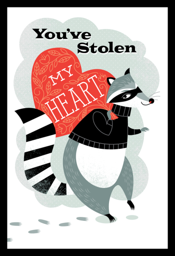 Raccoon Valentine