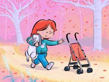 Stroller Ride for Bunny