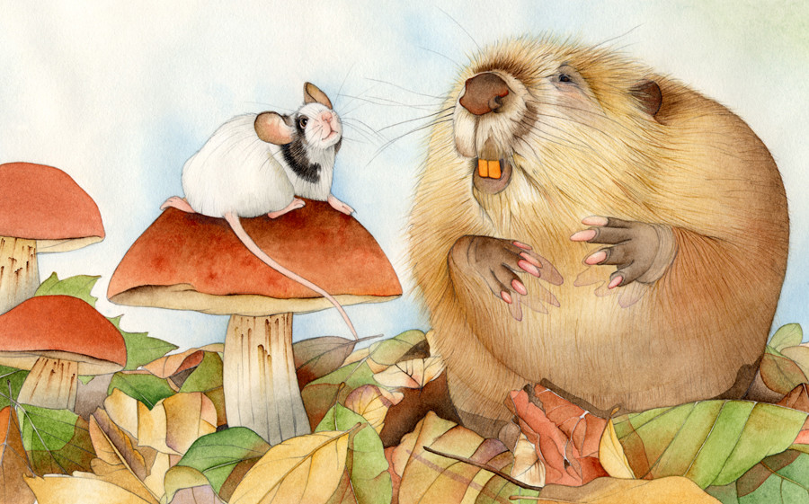 Little Mouse - picture book project