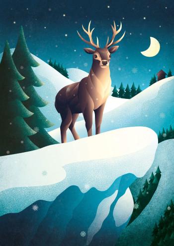 Silent Night, Deer