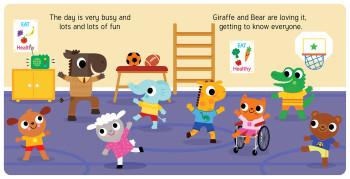 Giraffe and Friends - Start School