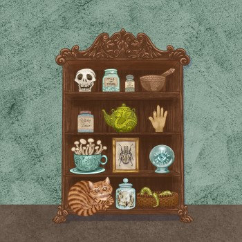 A Witch's Cupboard