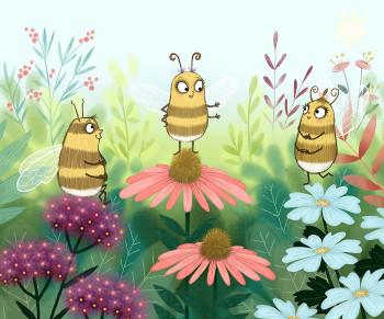 Bella Bee and Friends