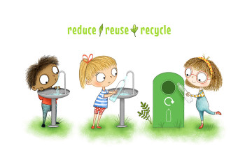 Reduce Reuse Recycle Kids