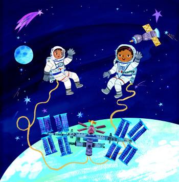 First Explorers Astronauts