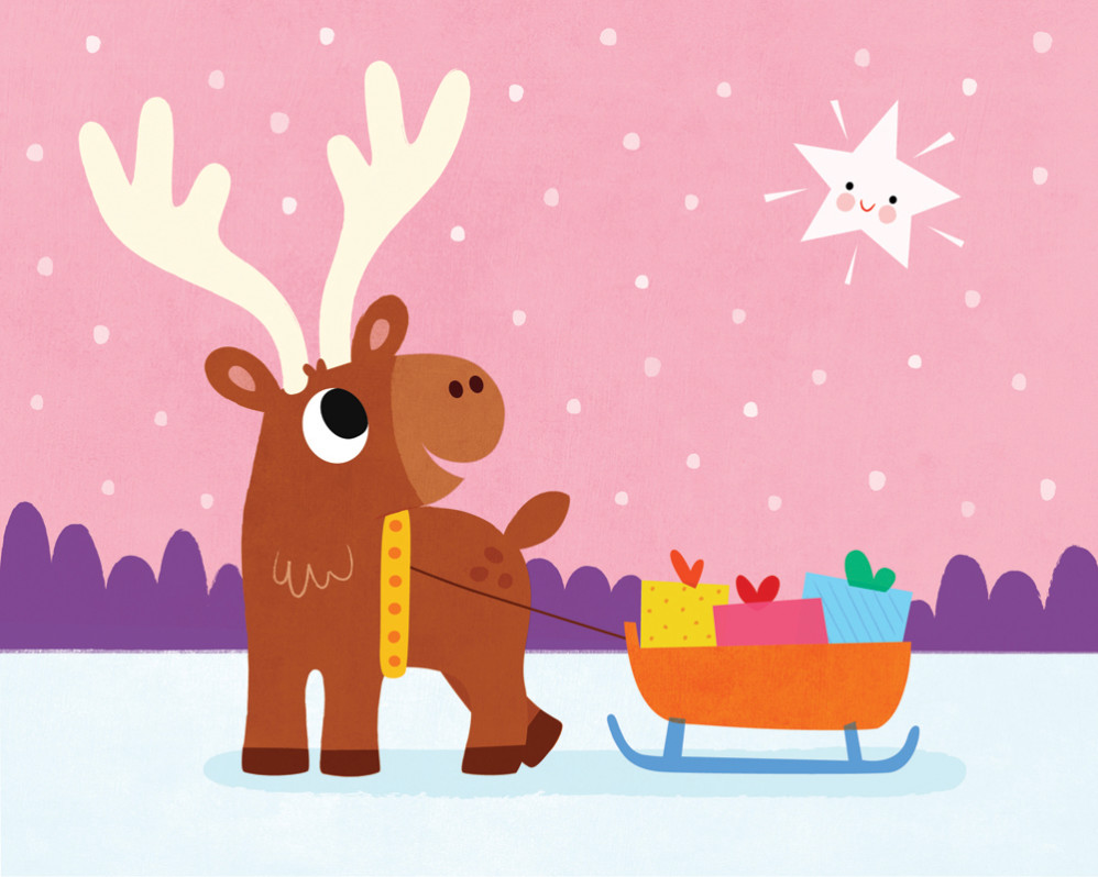 Animals-Little Reindeer - Hello Twinkly Star!