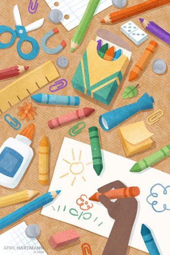 Work Vision - school supplies