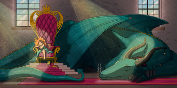 Princess & Dragon