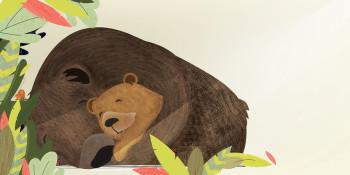 `Brownie the Bear` children's book