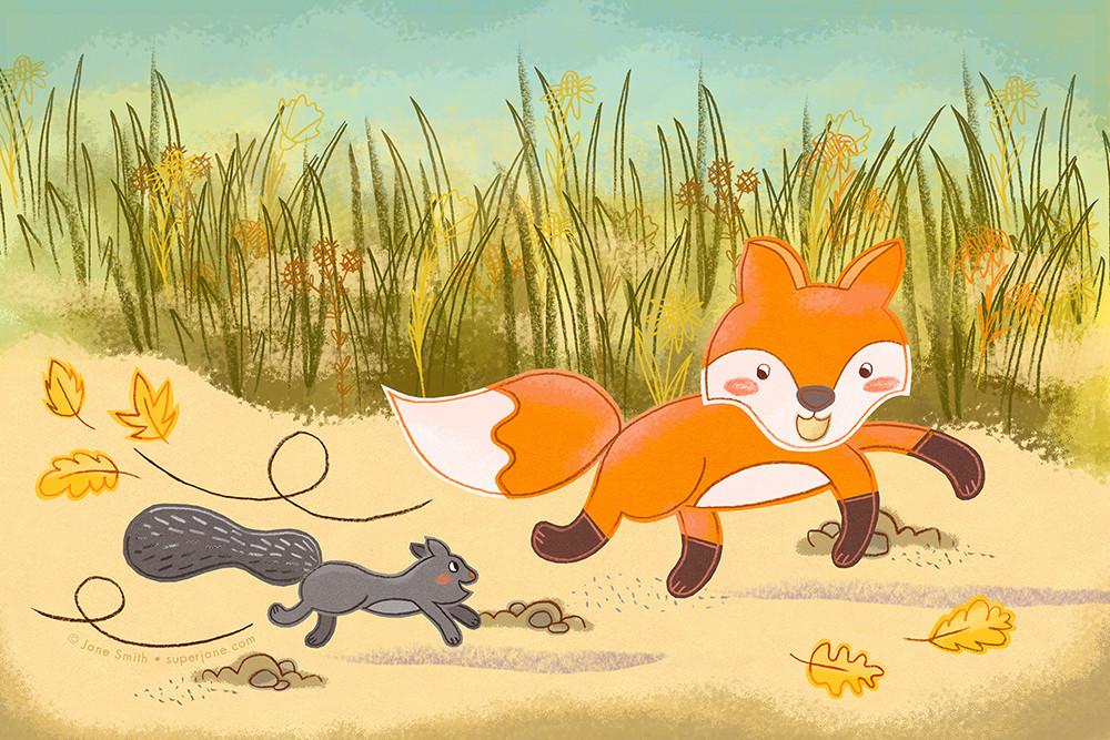 Fox & Squirrel Race