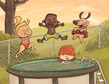 Last Dip of Summer