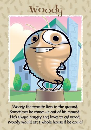 Woody The Termite