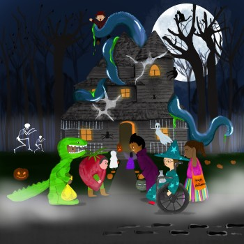 The Battle of The haunted House