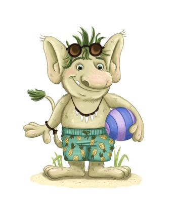 Beach Troll