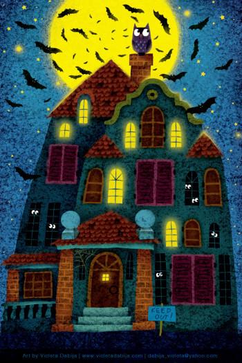 Papyrus Halloween card