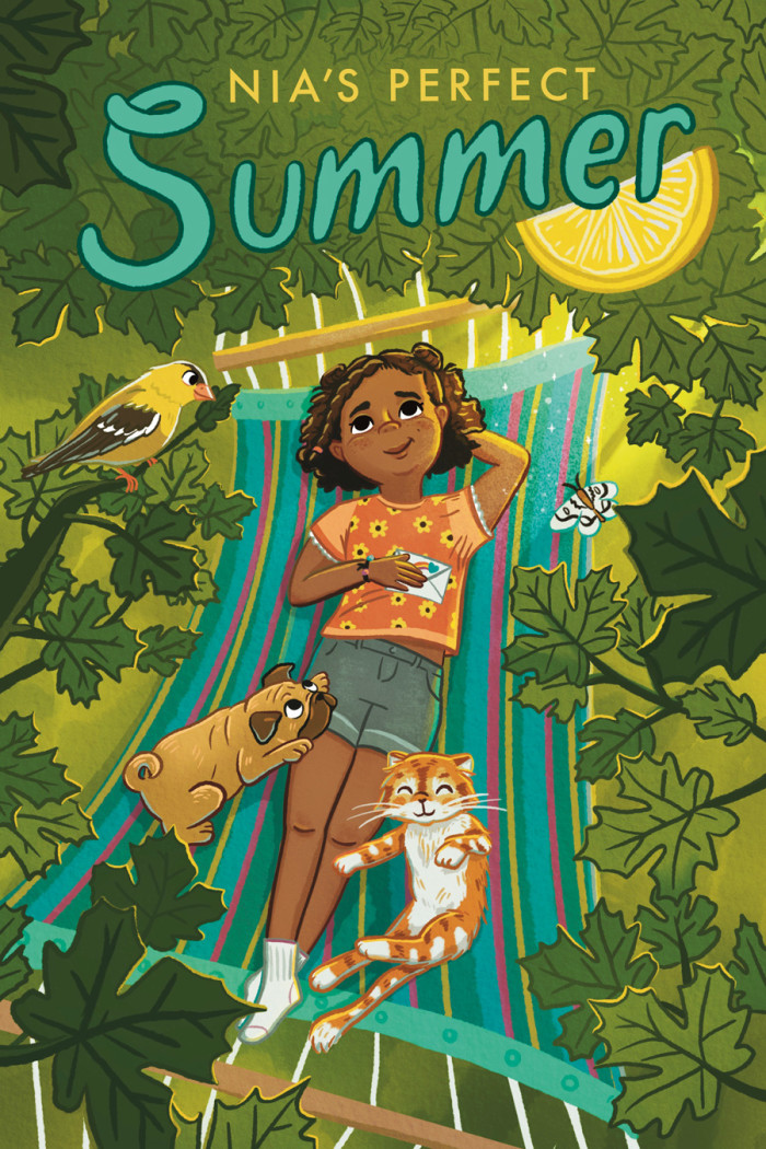 Nia's Perfect Summer Middle Grade Cover
