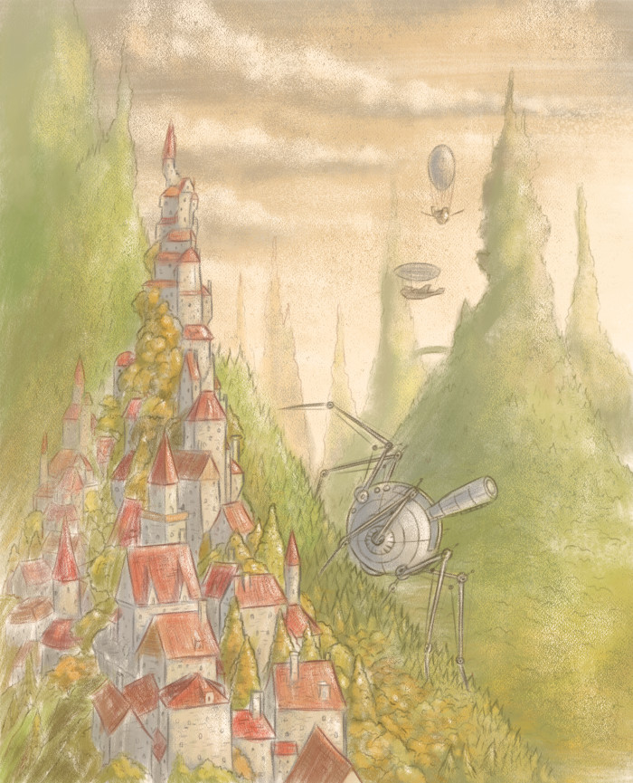 Mazetania, Kingdom of Gnomes - The Sorcerer's Dog