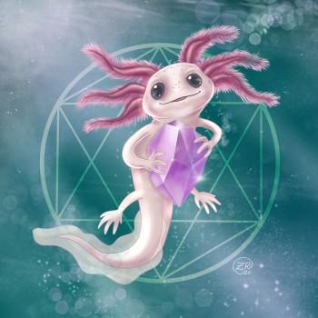 Axolotl Treasure