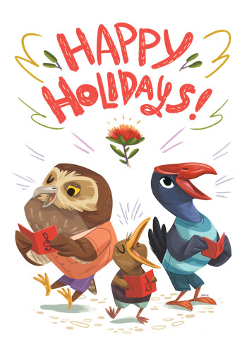 Happy Holidays Birdies