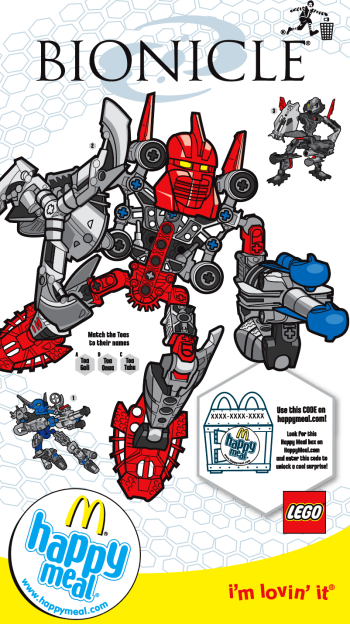 LEGO Bionicle for McDonalds Happy Meal