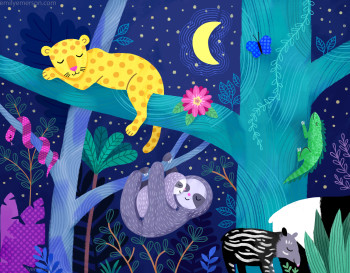 Sleepy Jungle