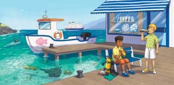 Big Cat 27: A Sunken Ship - Harper Collins