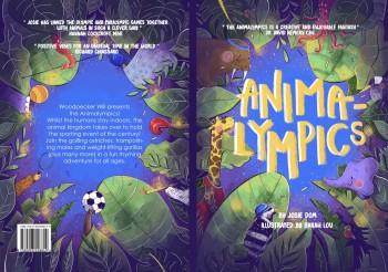 Animalympics book cover