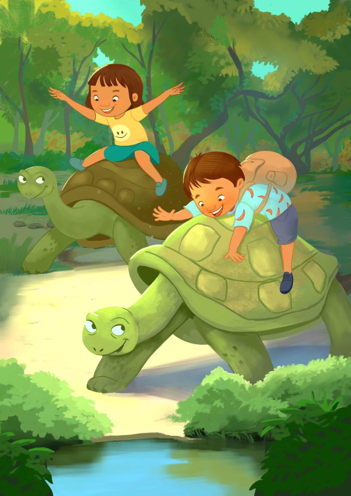 Meeting up the Galapagos