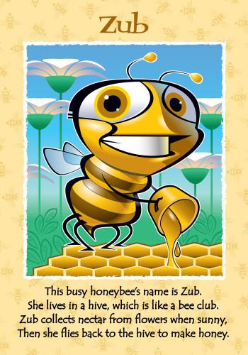Zub the Honey Bee