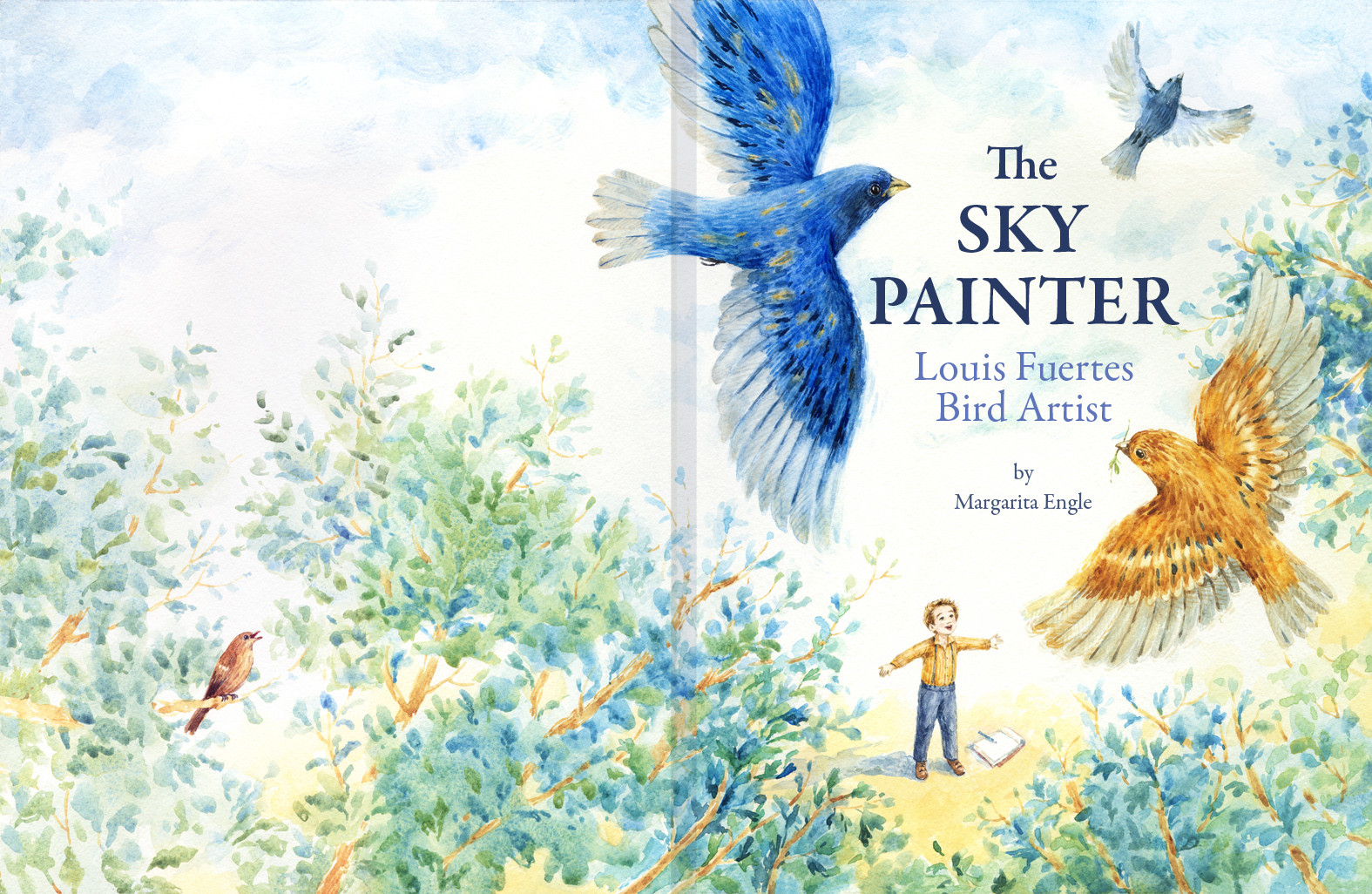 'The Sky Painter: Louis Fuertes, Bird Artist', Cover