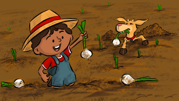 Samir Farming onions