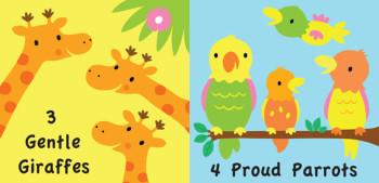 3 Gentle Giraffes
