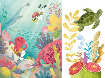 Sea life friends