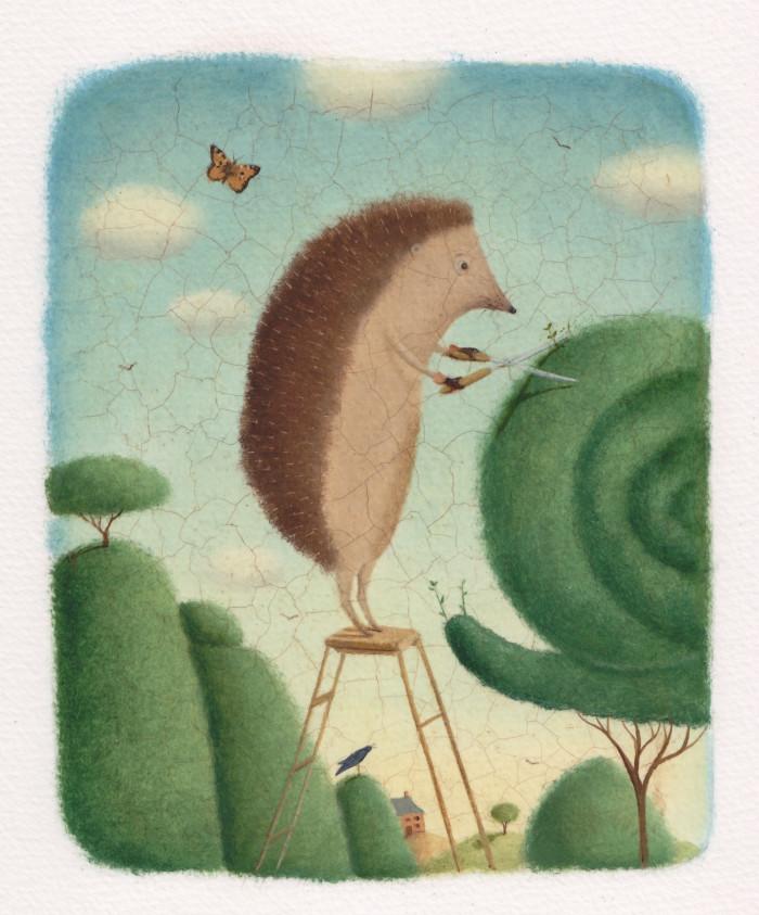 Topiary Hedgehog
