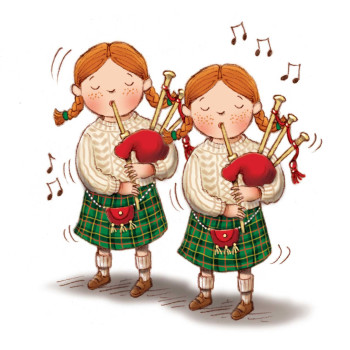 Twin Pipers