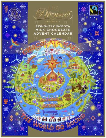 Divine Milk Chocolate Advent Calendar 2020